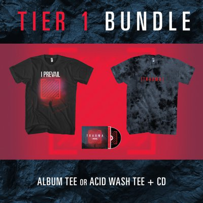i-prevail - Tier 1 Trauma CD Bundle