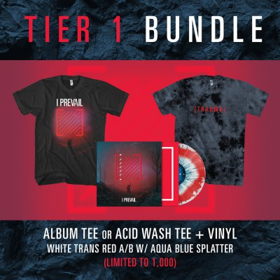 i-prevail - Tier 1 Trauma Vinyl Bundle