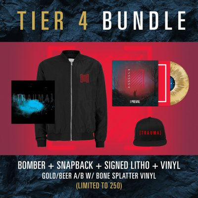 i-prevail - Tier 4 Trauma Vinyl Bundle
