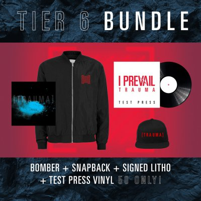 i-prevail - Tier 6 Trauma Vinyl Bundle