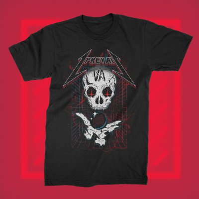 i-prevail - Trauma Skull Tee (Black)