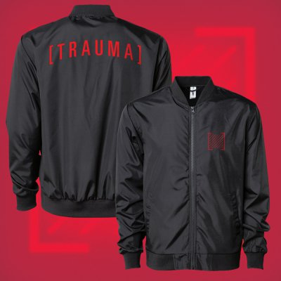 i-prevail - Trauma Bomber Jacket (Black)