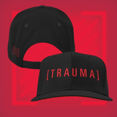 i-prevail - Trauma Snapback Hat (Black)