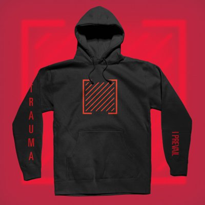 i-prevail - Trauma Icon Pullover Hoodie (Black)