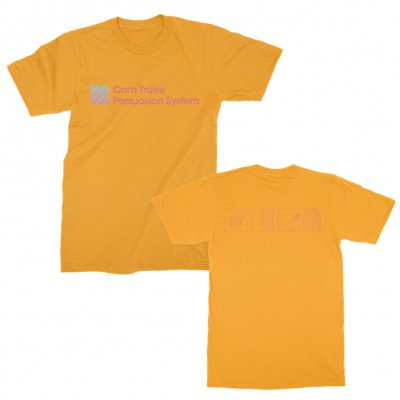 com-truise - Persuasion System Gradient T-Shirt (Orange)