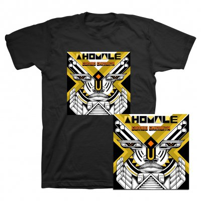 Combo Chimbita - Ahomale CD + Tee (Black) Bundle