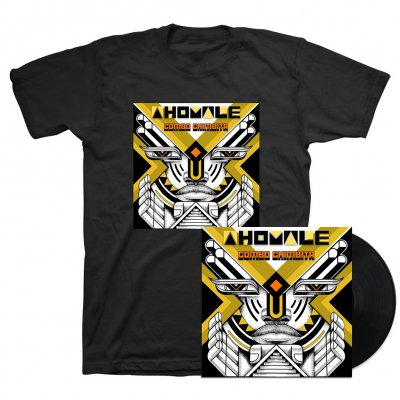 Combo Chimbita - Ahomale LP (Black) + Tee (Black) Bundle
