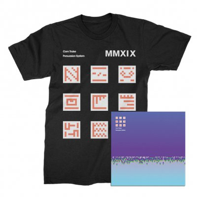 com-truise - Persuasion System CD + T-Shirt (Black) Bundle