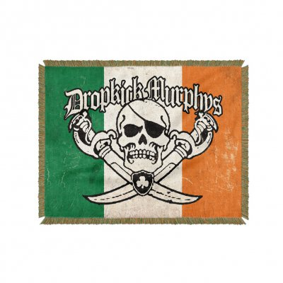dropkick-murphys - Irish Jolly Roger Blanket
