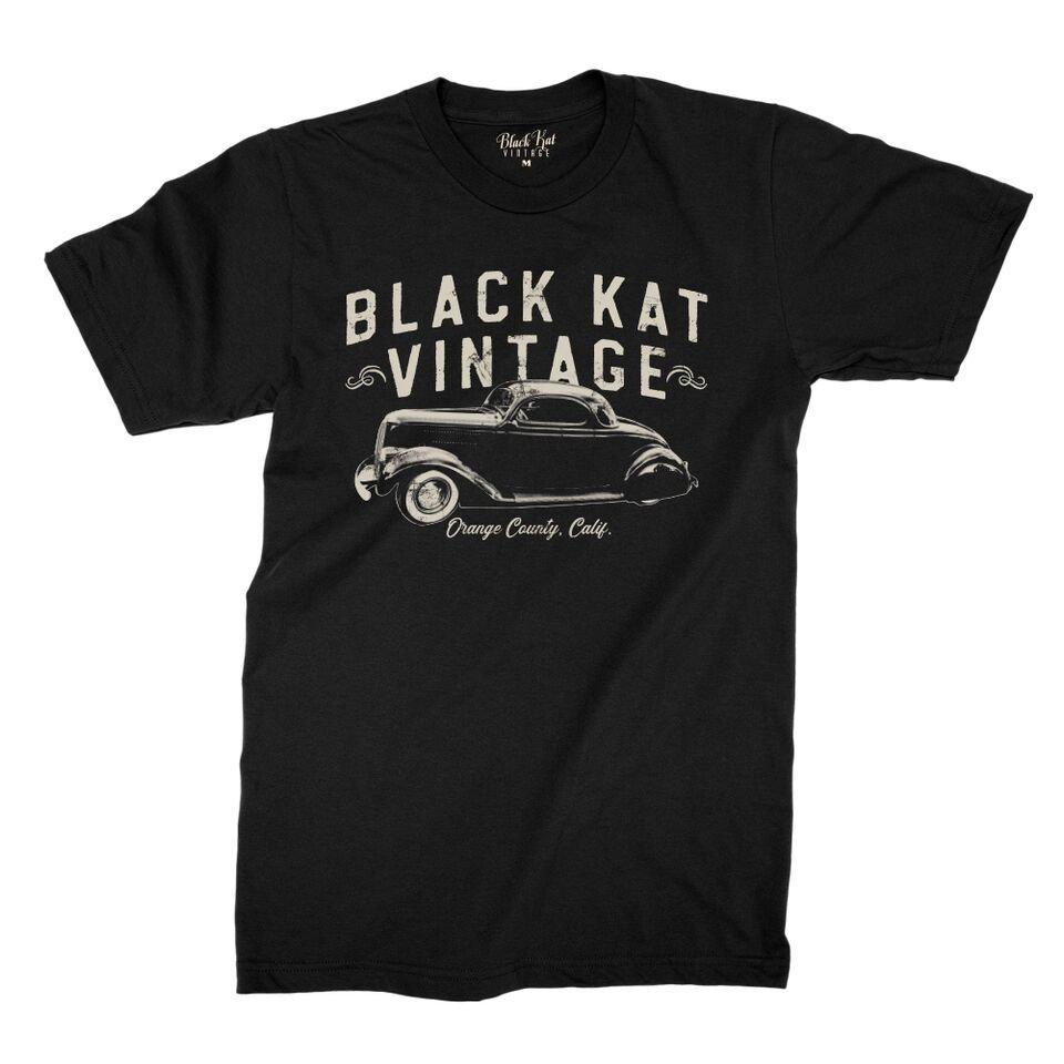 IMAGE   Vintage Orange County Tee (Black)