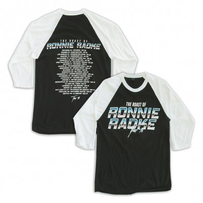 Ronnie Roast Raglan (Black/White)