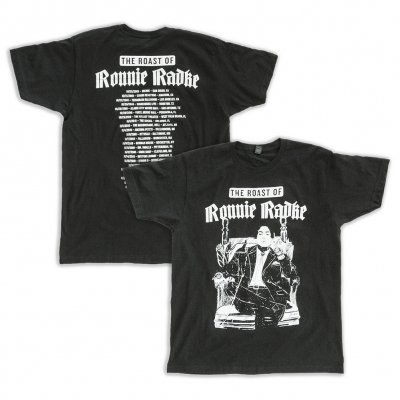Ronnie Roast Tee (Black)