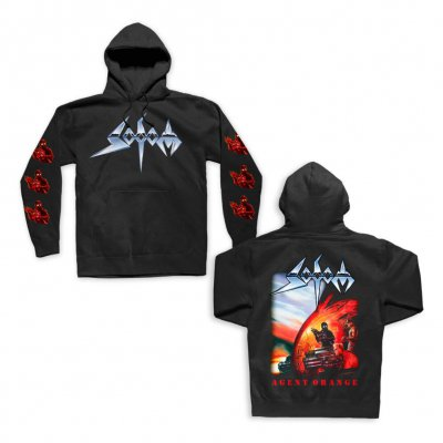 sodom - Agent Orange Pullover Sweatshirt (Black)