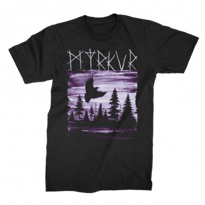 myrkur - Lavender Raven Tee (Black)
