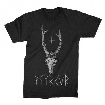 myrkur - Deer Skull Tee (Black)