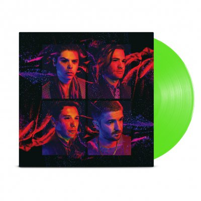 By Night LP (Clear Lime Green)