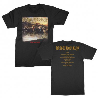 Bathory - Blood Fire Death T-Shirt (Black)