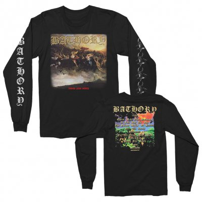 Blood Fire Death Long Sleeve (Black)