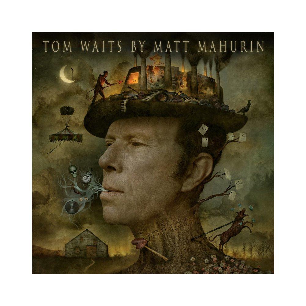 IMAGE | Tom Waits by Matt Mahurin Book