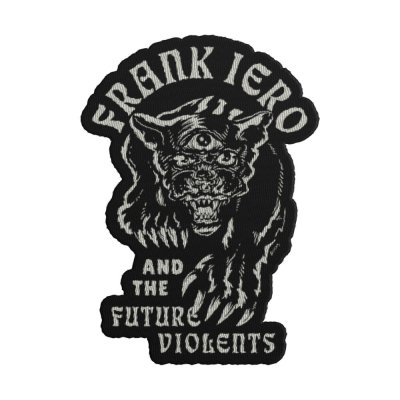 frank-iero - Panther Die Cut Patch