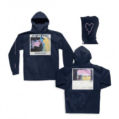 frank-iero - Barriers Pullover Sweatshirt (Navy)