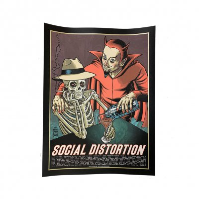 social-distortion - Summer 2018 Tour Screen Print