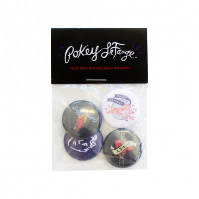 pokey-lafarge - Button Set 4-Pack