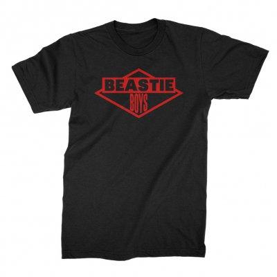beastie-boys - Red Logo Tee (Black)