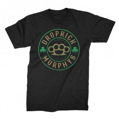 dropkick-murphys - Knuckledust Tee (Black)