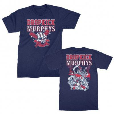 dropkick-murphys - Fenway Skull Redux Tee (Navy)