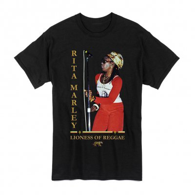 Rita Marley - Lioness Live Tee (Black)