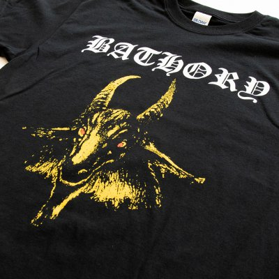 Bathory /'Goat/' Womens Fitted T-Shirt NEW /& OFFICIAL!