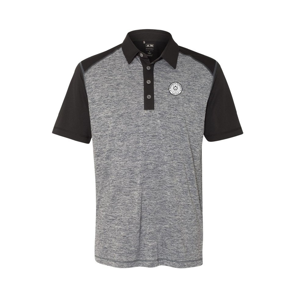 IMAGE | Golf Polo (Grey/Black)