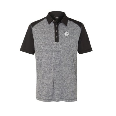Golf Polo (Grey/Black)