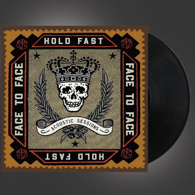 face-to-face - Hold Fast Acoustic Sessions LP (Black)
