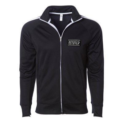 refused - Old Logo Track Jacket (Black)