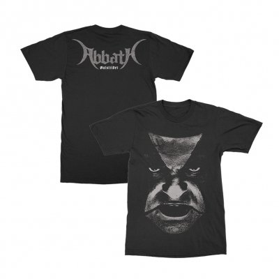 abbath - Outstrider Close Up T-Shirt (Black)