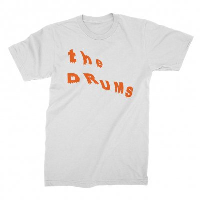 the-drums - Abysmal Thoughts Logo Tee (White)