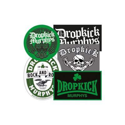 dropkick-murphys - 5 Sticker Set