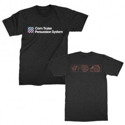com-truise - Persuasion System Gradient T-Shirt (Black)