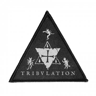 tribulation - Triangle Woven Patch