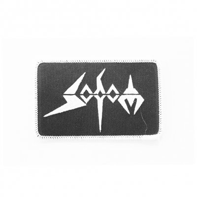 sodom - White Logo Patch