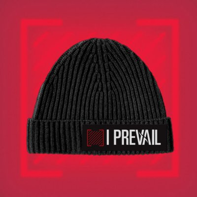 i-prevail - Trauma Patch Beanie (Black)