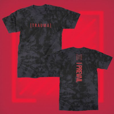 i-prevail - Trauma Acid Wash Tee (Black)