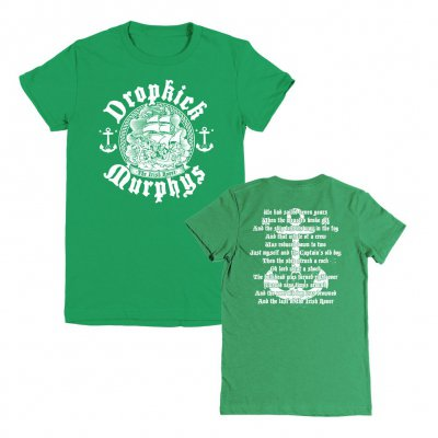 dropkick-murphys - Irish Rover Womens Tee (Kelley Green)