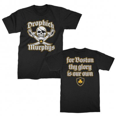 dropkick-murphys - Jolly Roger Tee (Black)