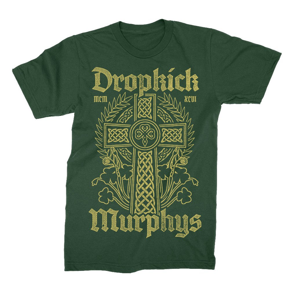 IMAGE | Celtic Cross Tee (Forest Green)