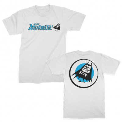 the-aquabats - Classic Logo Tee (White)