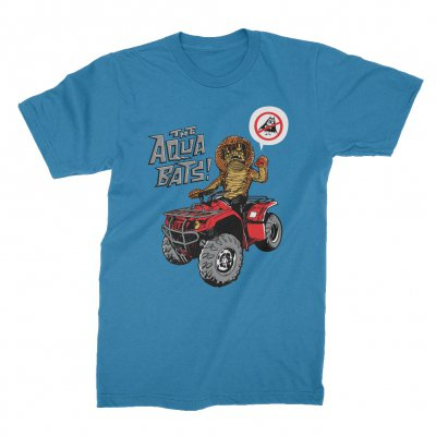 the-aquabats - Cobraman ATV Tee (Blue)