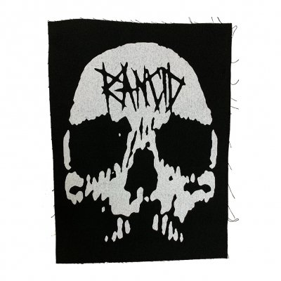 rancid - Rancid Skull Tattered Backpatch